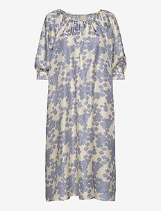 Elia Dress - midi kjoler - cloud cream