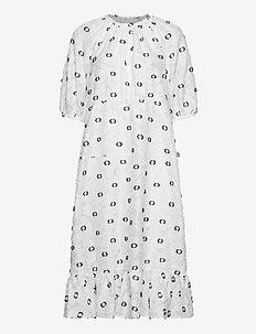 Banister Dress - midi kjoler - white