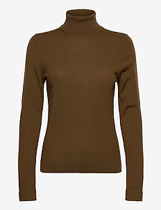 Julian Pullover - turtlenecks - beech