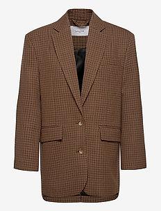 Montana Blazer - oversized blazere - brown