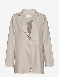 Kirstin Blazer - suits & co-ords - sand