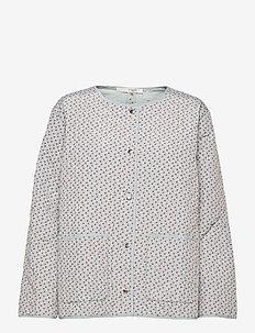 Oriana Shirt - pitkähihaiset puserot - sky gray