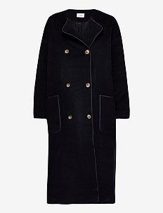 Brianna Coat - manteaux en laine - navy