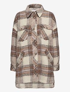 Freja Shirt - overshirts - creme brulee