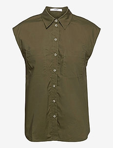 Vella Shirt - overhemden met korte mouwen - olive night