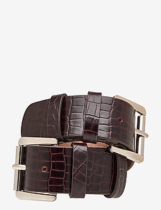 Marvin Belt - accessories - imprinted brown