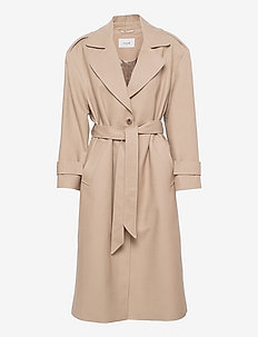Christy Coat - trenchcoats - oxford tan