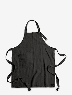LOVELY LONG APRON - schorten - dark grey