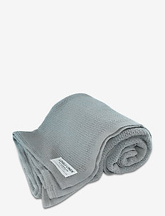 LOVELY COTTON BLANKET - decken - grey