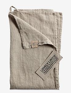 LOVELY KITCHEN TOWEL - kjøkkenhåndklær - natural beige