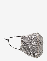 LU-BB - Moonlight Adult - gezicht maskers - silver sequin - 1