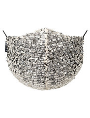 LU-BB - Moonlight Adult - gezicht maskers - silver sequin - 3