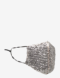 Moonlight Adult - ansiktsmasker - silver sequin