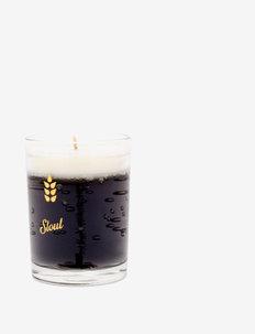 Beer Candle Stout - doftljus - black