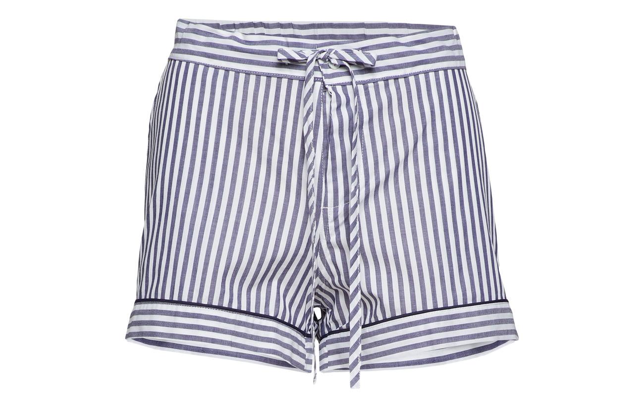 Shorts Coton Pj Camille Stripe Drawer 100 Lulu's vBgxn