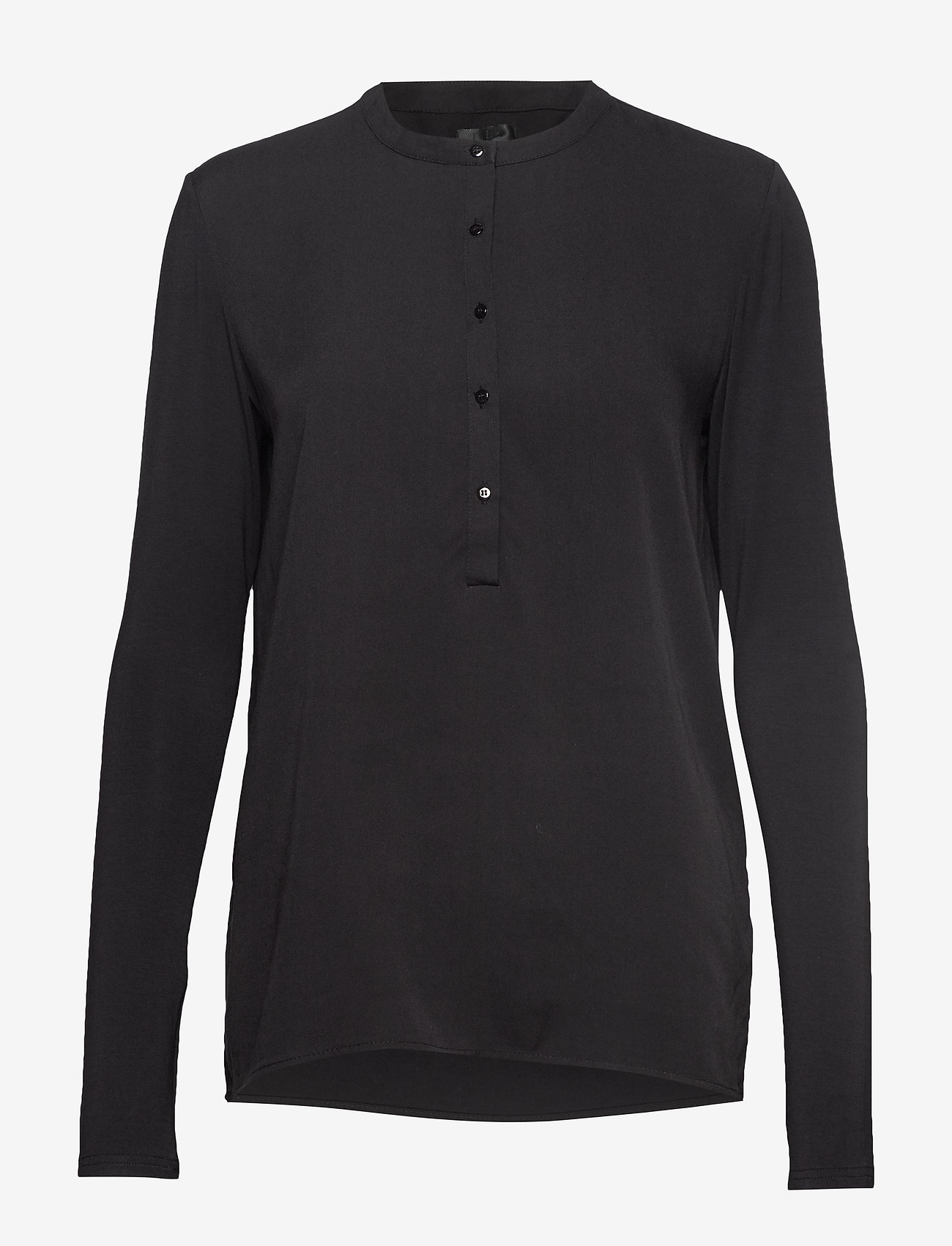 Lulu's Drawer - Houston blouse - pitkähihaiset puserot - black