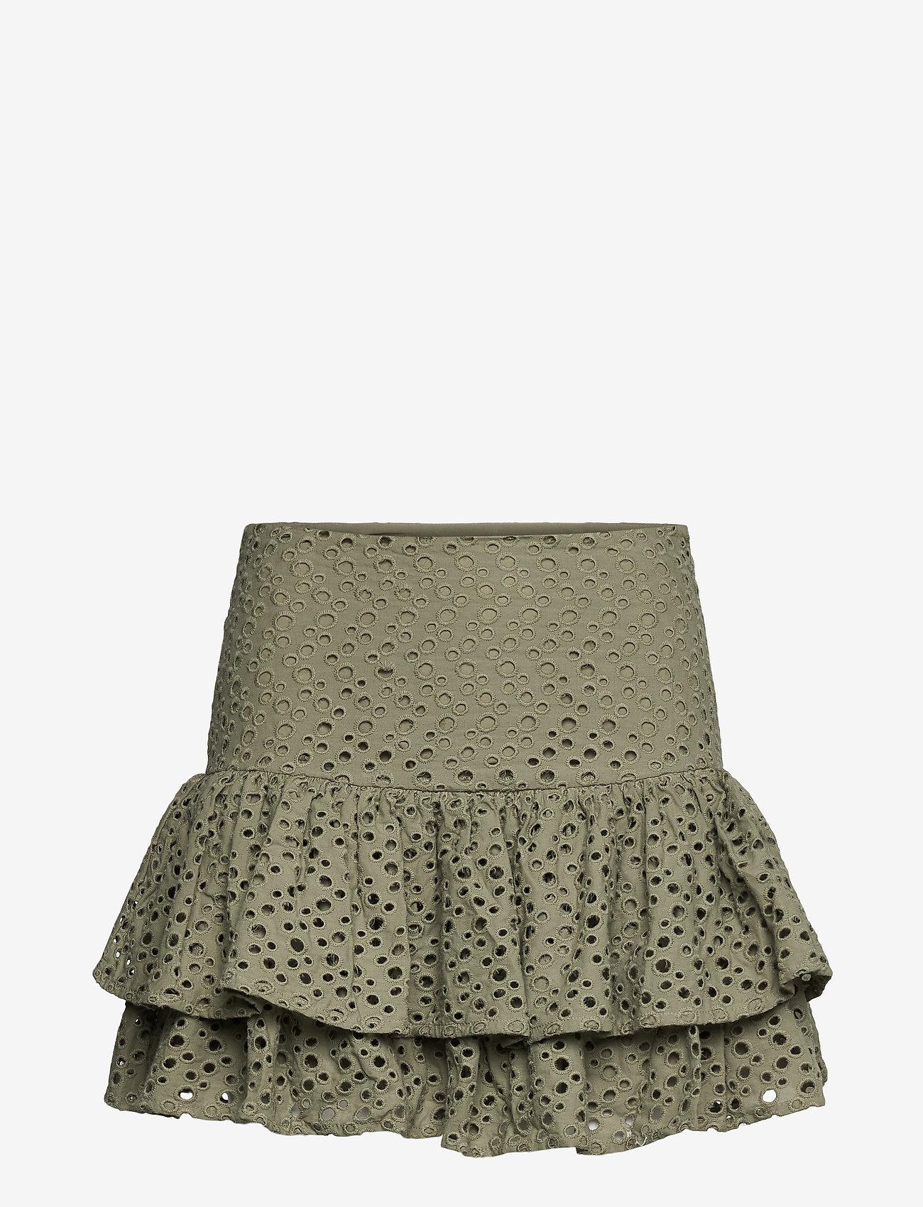 Lulu's Drawer - Annie skirt - korta kjolar - khaki green - 0