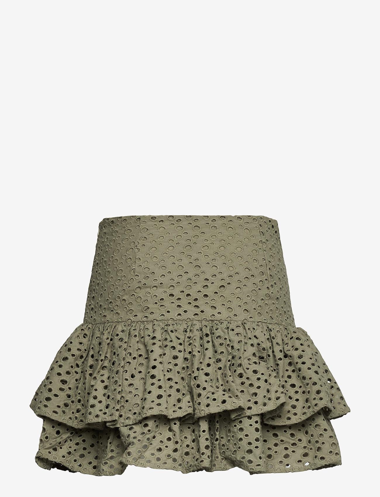 Lulu's Drawer - Annie skirt - korta kjolar - khaki green - 1