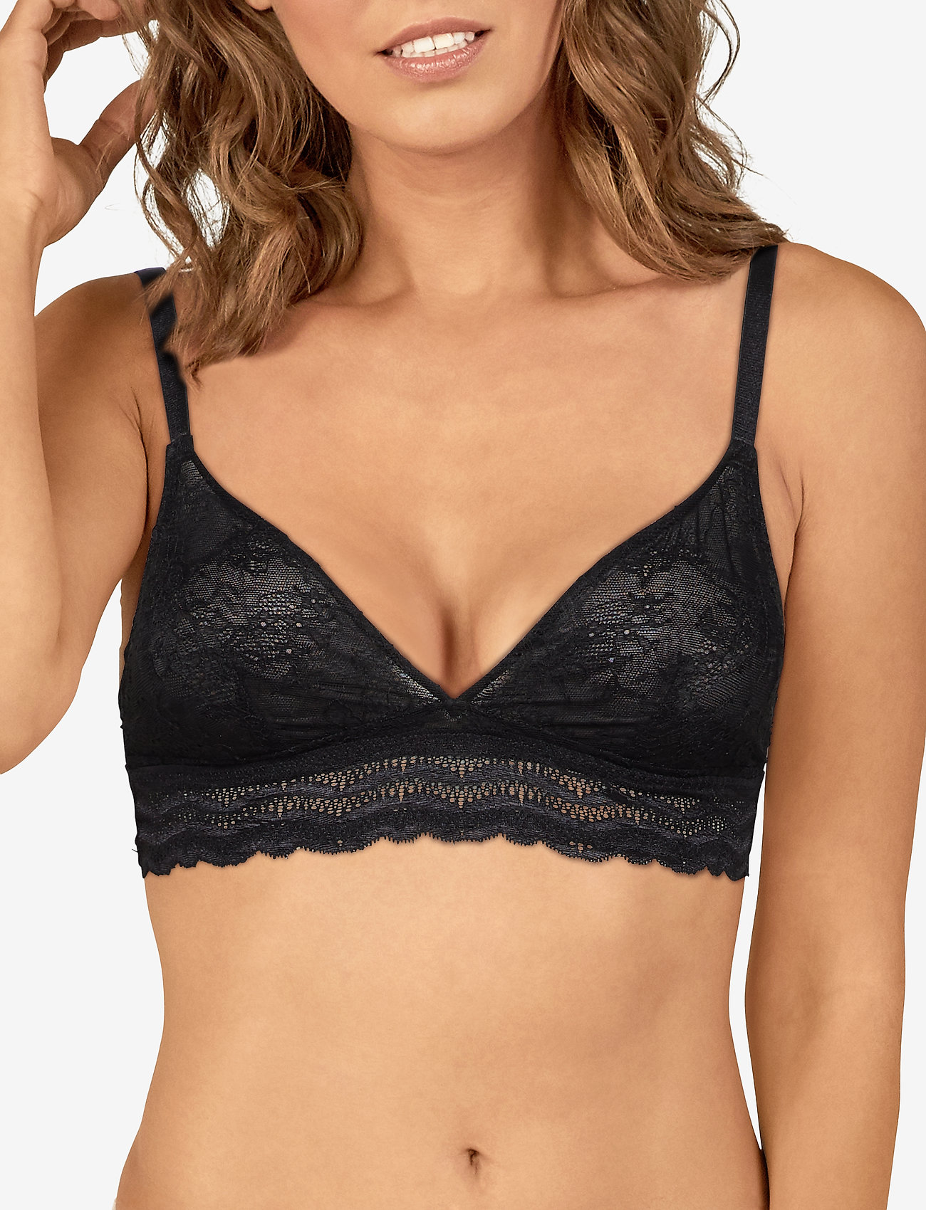 Lulu's Drawer Leah softcup bra - BLACK