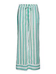 Georgia pants - GREEN STRIPE