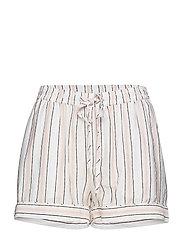 Georgia shorts - BLUSH STRIPE