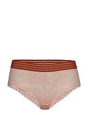 Holly lace hipster - BLUSH