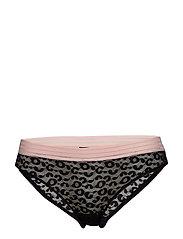 Holly leomesh low panty - BLACK