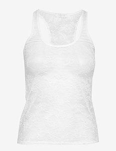Lynn singlet - WHITE