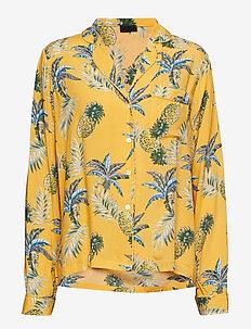 Gardenia shirt - PRINT