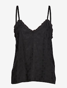 Hayley top - BLACK