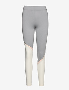 Hero leggins - GREY/OFF WHITE