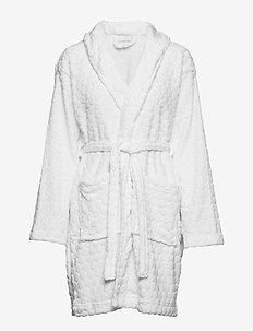 Harlow robe - WHITE