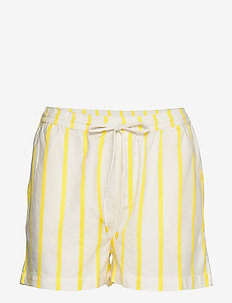 Ida shorts - OFF WHITE/LEMON STRIPE