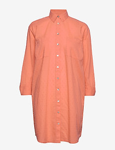 Inez shirt dress - TERRACOTTA