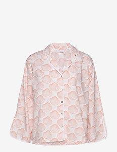 Isabel shirt - MUSSEL PRINT