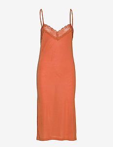 Huma slipdress - TERRACOTTA
