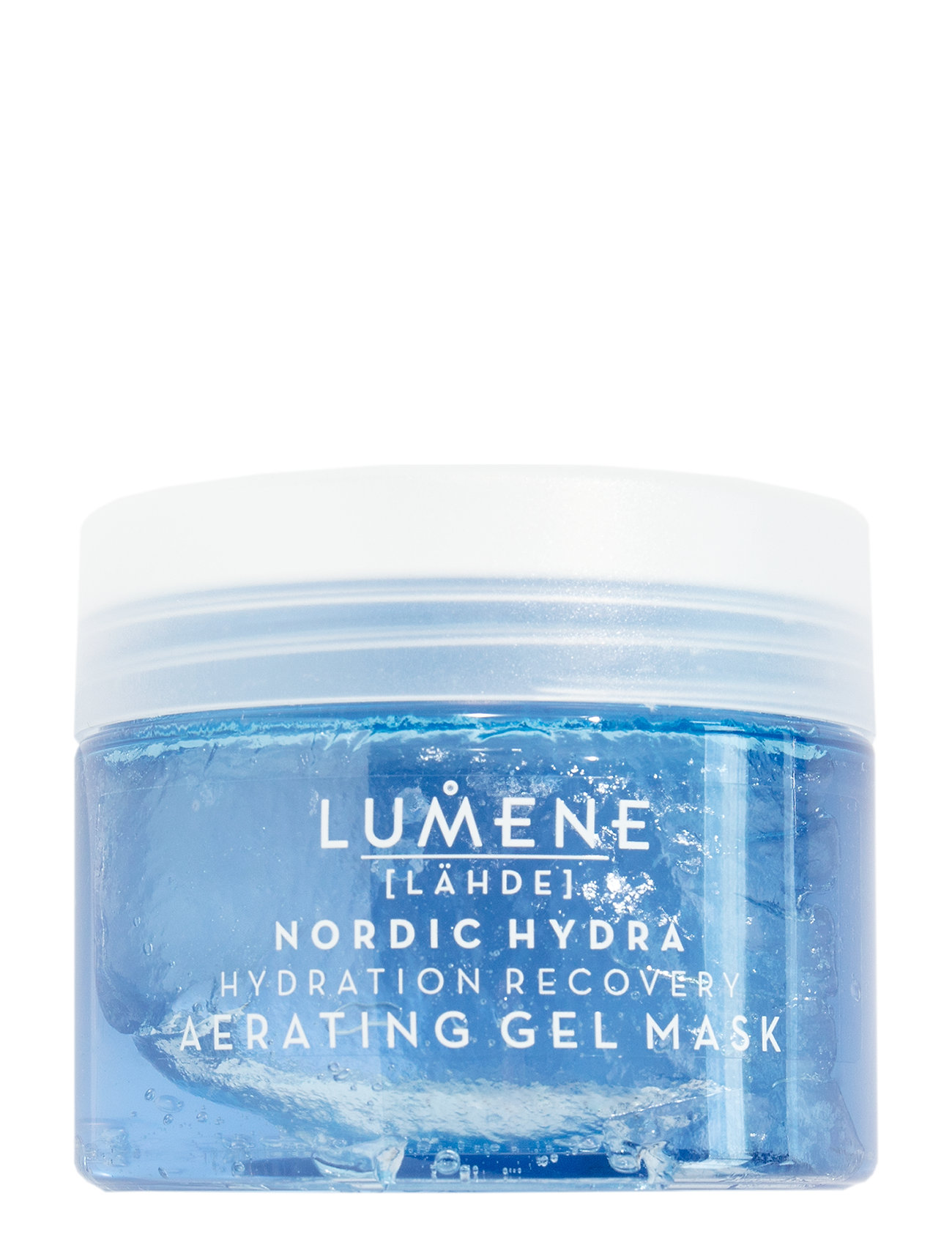 Image of LäHde Nordic Hydra Hydration Recovery Aerating Gel Mask Beauty WOMEN Skin Care Face Face Masks Nude LUMENE (3305405611)