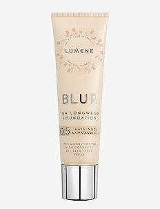 Blur 16H Longwear Foundation SPF 15 - meikkivoide - 0.5 fair nude