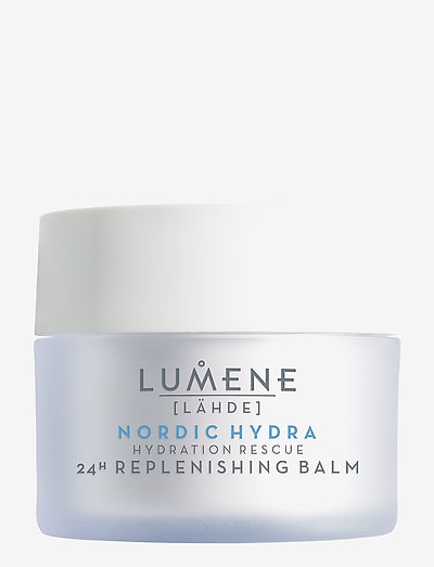 Lähde Nordic Hydra Hydration Rescue 24h Replenishing Balm - päivävoiteet - no color