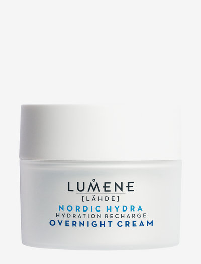 Lähde Nordic Hydra Hydration Recharge Overnight Cream - dagkrem - no color