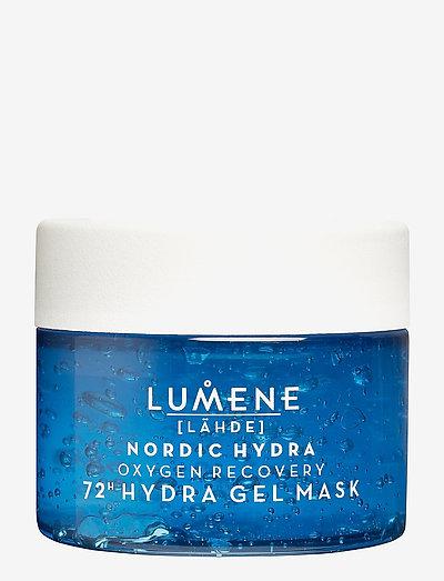 Lähde NORDIC HYDRA Oxygen Recovery 72H Hydra Gel Mask - ansiktsmasker - no colour