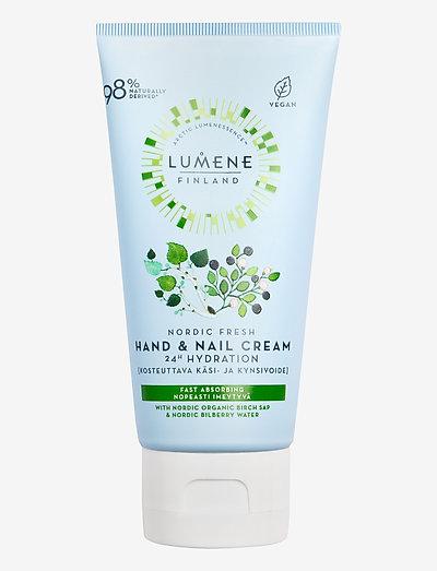 Nordic Fresh Hand & Nail Cream - käsivoide ja jalkavoide - no colour