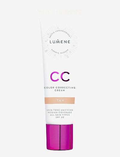 CC Color Correcting Cream SPF 20 - bb & cc creme - tan