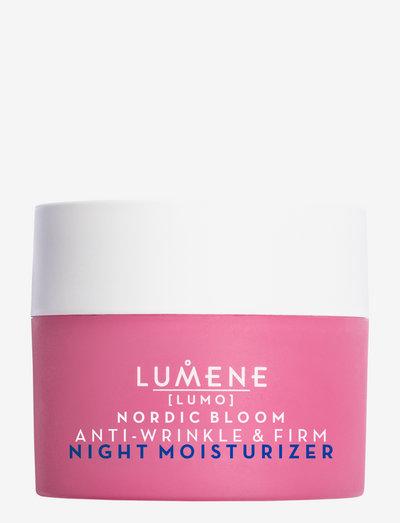 Nordic Bloom Anti-wrinkle & Firm Night Moisturizer - nattkräm - no colour