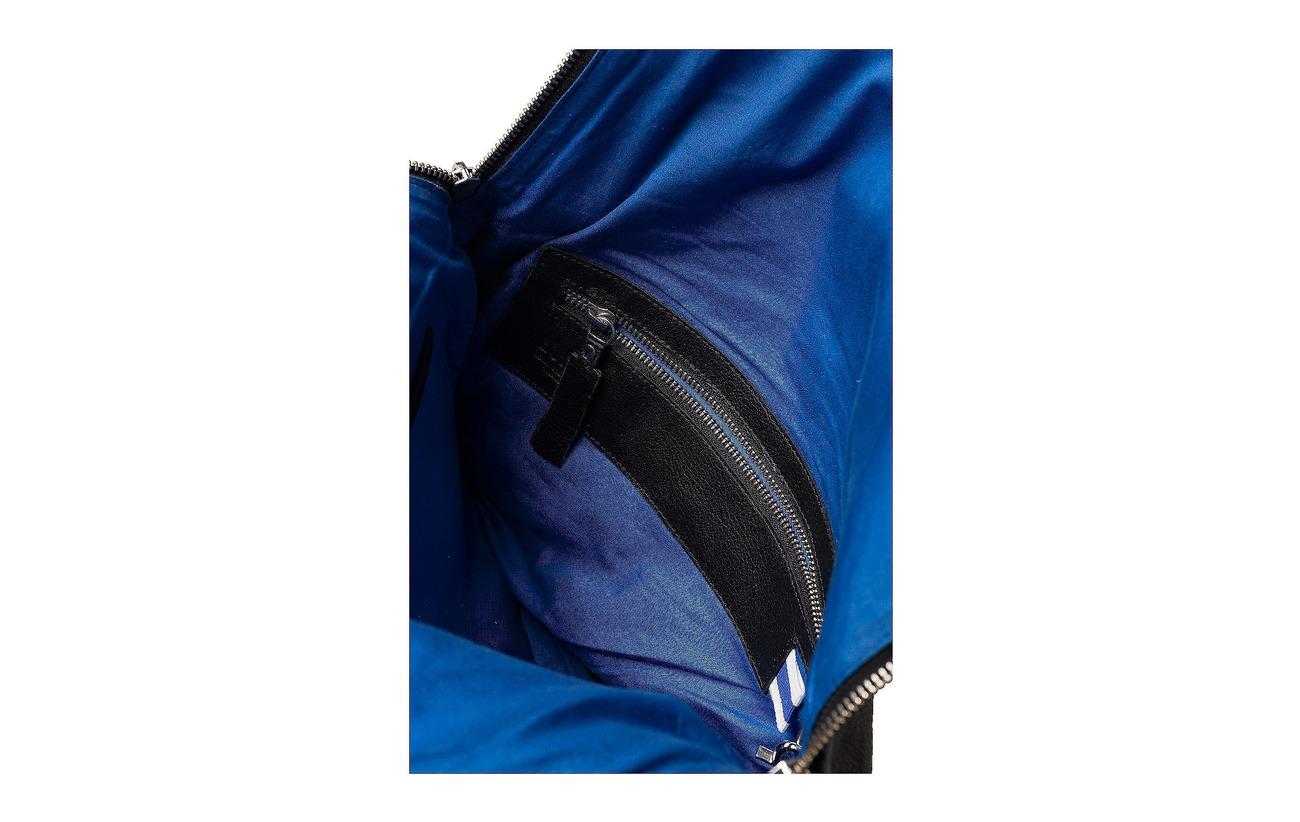 Tanned De Coton Chèvre Sergé Équipement Peau Lumi Doublure Black Cuir Intérieure Saara Backpack Blue Remove Vegetable Détails 100 wqpOZS