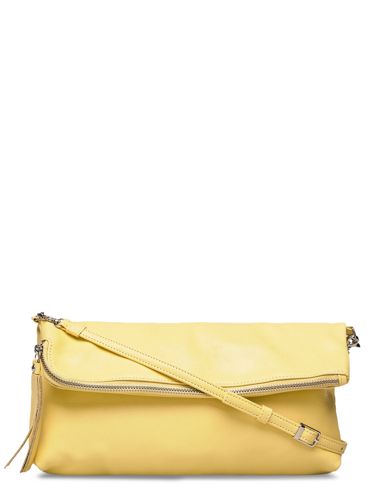 Image of Stefanie Large Pouch Bag Bags Small Shoulder Bags - Crossbody Bags Gul LUMI (3369206125)