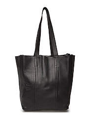 Frida Small Reversible Tote Floater - BLACK/SILVER