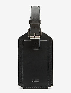 AMOS TRAVEL TAG - BLACK