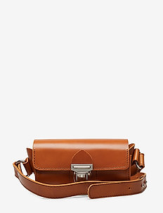 AINO TUBE BAG - COGNAC