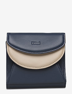 Viivi Trifold Wallet - NAVY BLUE/TAUPE